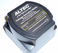 140 Amp 12 Volt Split charge relay <br>Voltage Sensing<br> ALTEC M-POWER   ALT/MPOWER140VSR-07